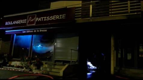 Incendie Boulangerie Pinot La Bresse 6