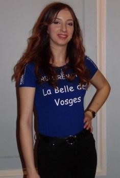 Axelle Tschaegle, 20 ans, originaire d'Epinal