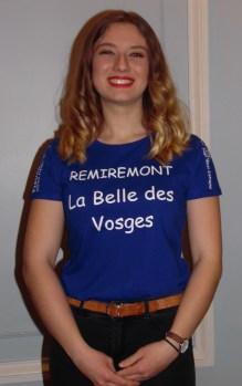 Gaëlle Richard, 18 ans, originaire de Saint-Dié-des-Vosges