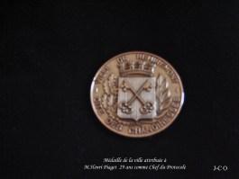 42 Médaille de la Ville