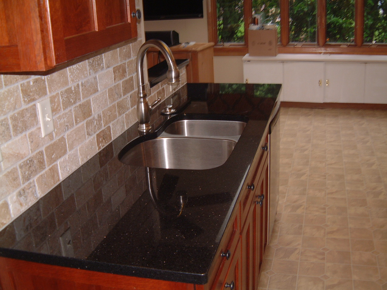 springfield kitchen project complete stone kitchen sink Springfield Kitchen Remodel Springfield Kitchen Remodel