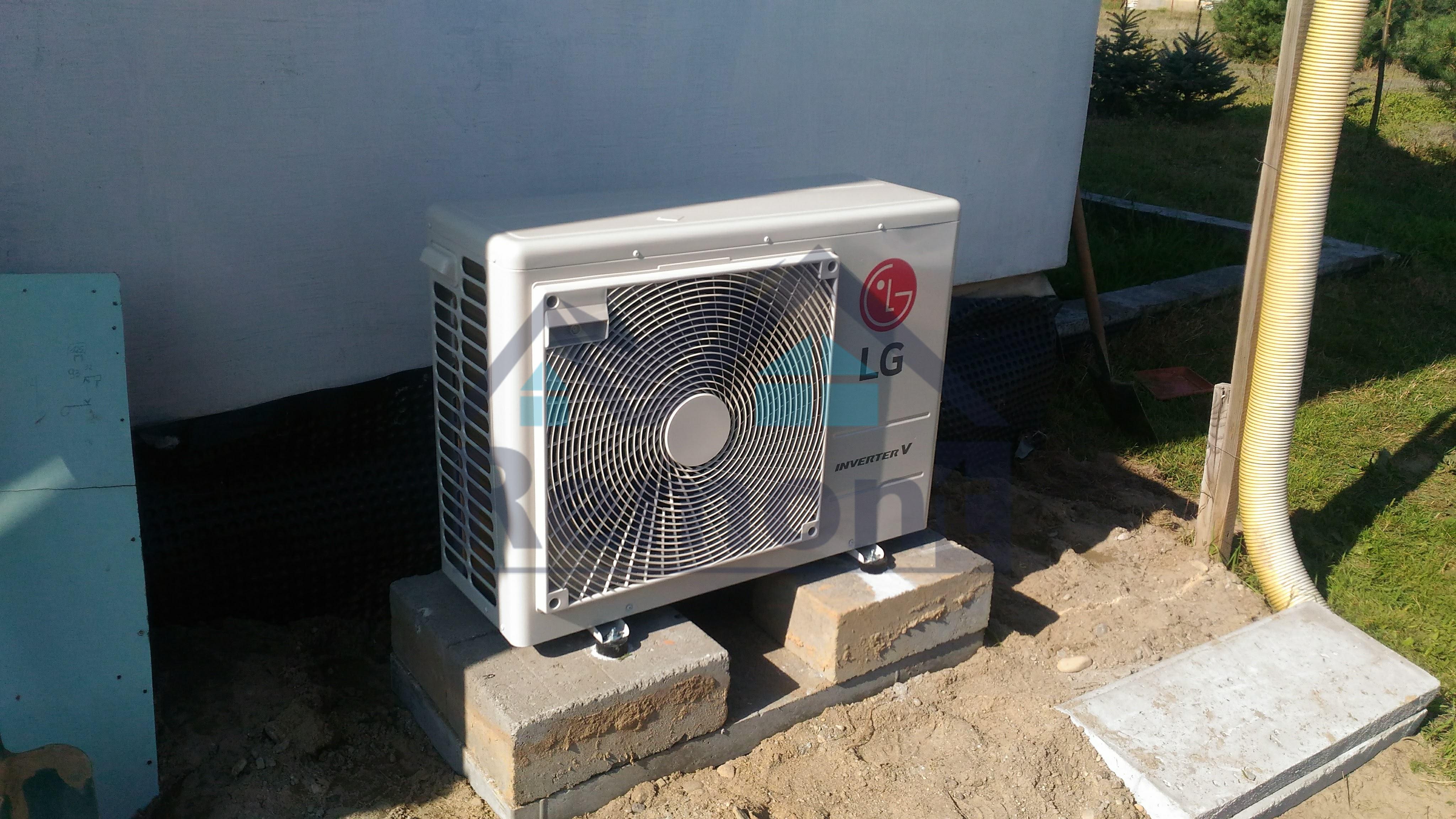 Montaż klimatyzacji lg