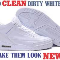 How To Clean Dirty White Shoes And Make Them White Again