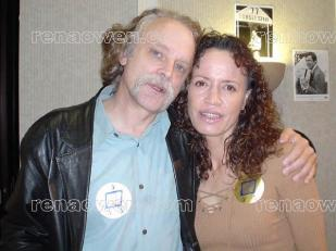 Rena and Brad Dourif at the Hollywood Collectors Show, January 2003