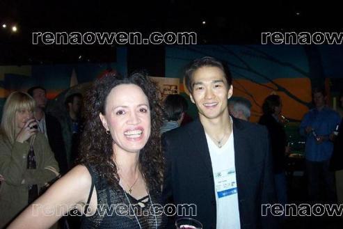 Rena and Freezerburn co-star, Karl Yune