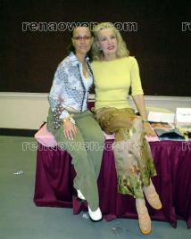 Rena and Julie Newmar