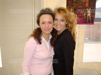 Rena and Playboy Playmate Sandra Taylor