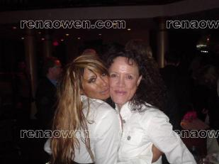 Rena and actress-model Traci Bingham