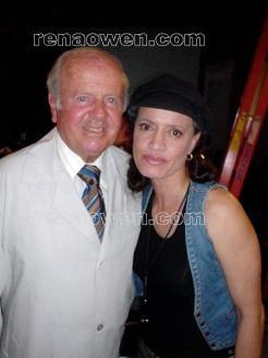 Rena and co-star Dick Van Patten