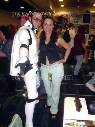 Rena meets the King of Stormtroopers