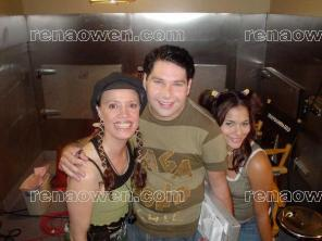 Rena with Alisa Reyes & Joel Michaely