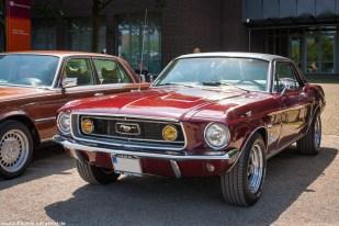 Ford Mustang bei der Nordstern Klassik in Gelsenkirchen