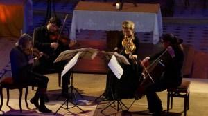 Alina IBRAGIMOVA - violon, Pablo HERNAN BENEDI - violon, Claire THIRION - violoncelle & Emilie HÖRNLUND - alto