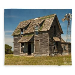 Small Crop Of Old Farm House
