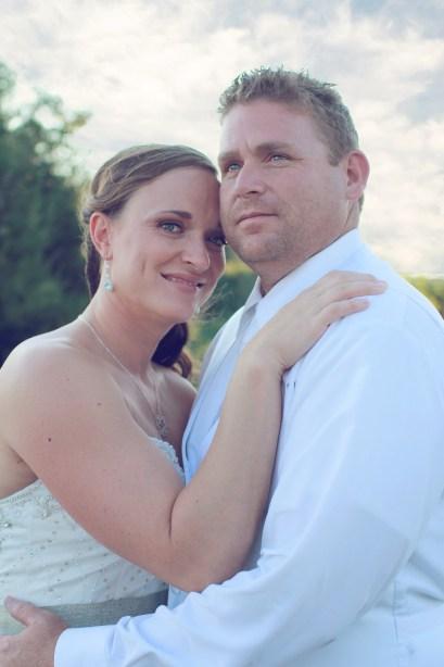 Wedding Photos at Sunset