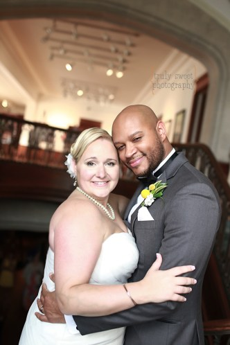 Beautiful Bride and Groom at Callanwolde Fine Arts Center - Wedding Photographer