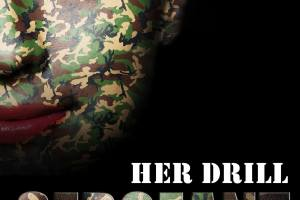 Over my lap, naughty little private – Her Drill Sergeant Dom