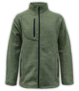 Renegade club unisex fleece jacket, full zip, nantucket soft fleece, mens jacket, womens jacket, olive, green