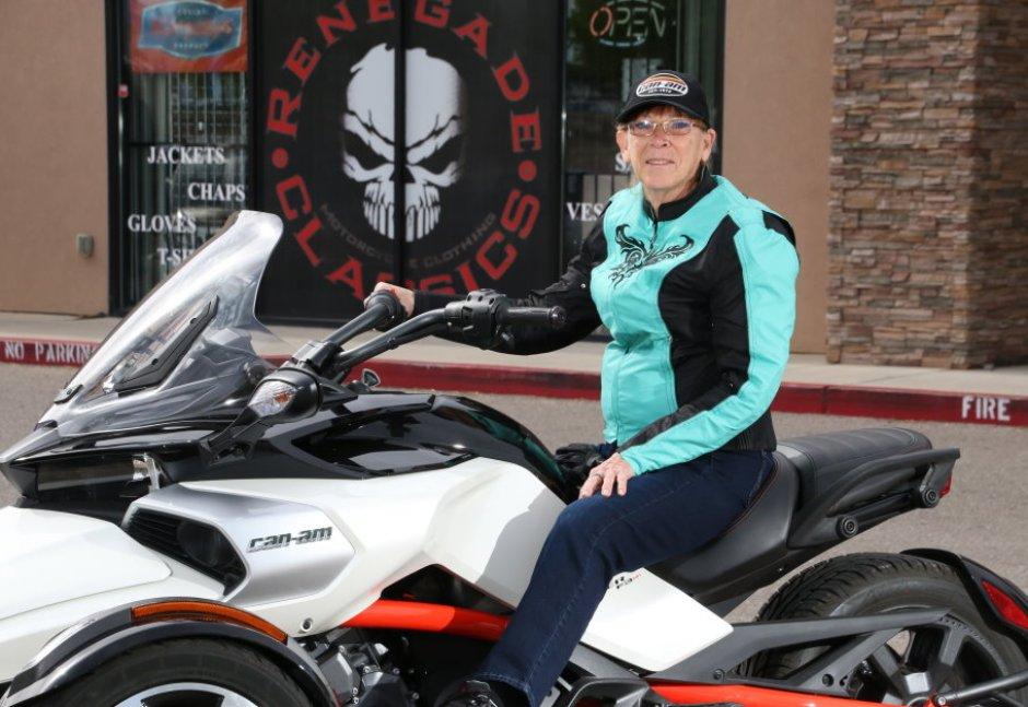 Women's Motorcycle Jacket