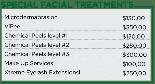 special-facials
