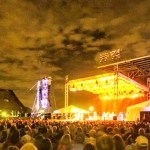 Bleacher Rental for Concert