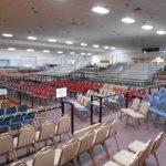 Indoor Circus Bleachers in Florida