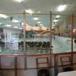 Skating Rink Bleacher Rental