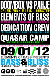 Bass & Bliss Poster