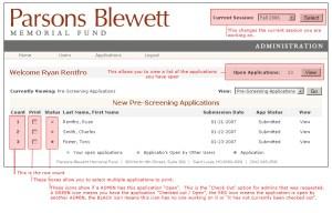 Parsons Blewett Web App Design