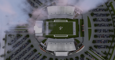 Check out Prosper High School's proposed $48 million mega stadium that features banquet hall ...
