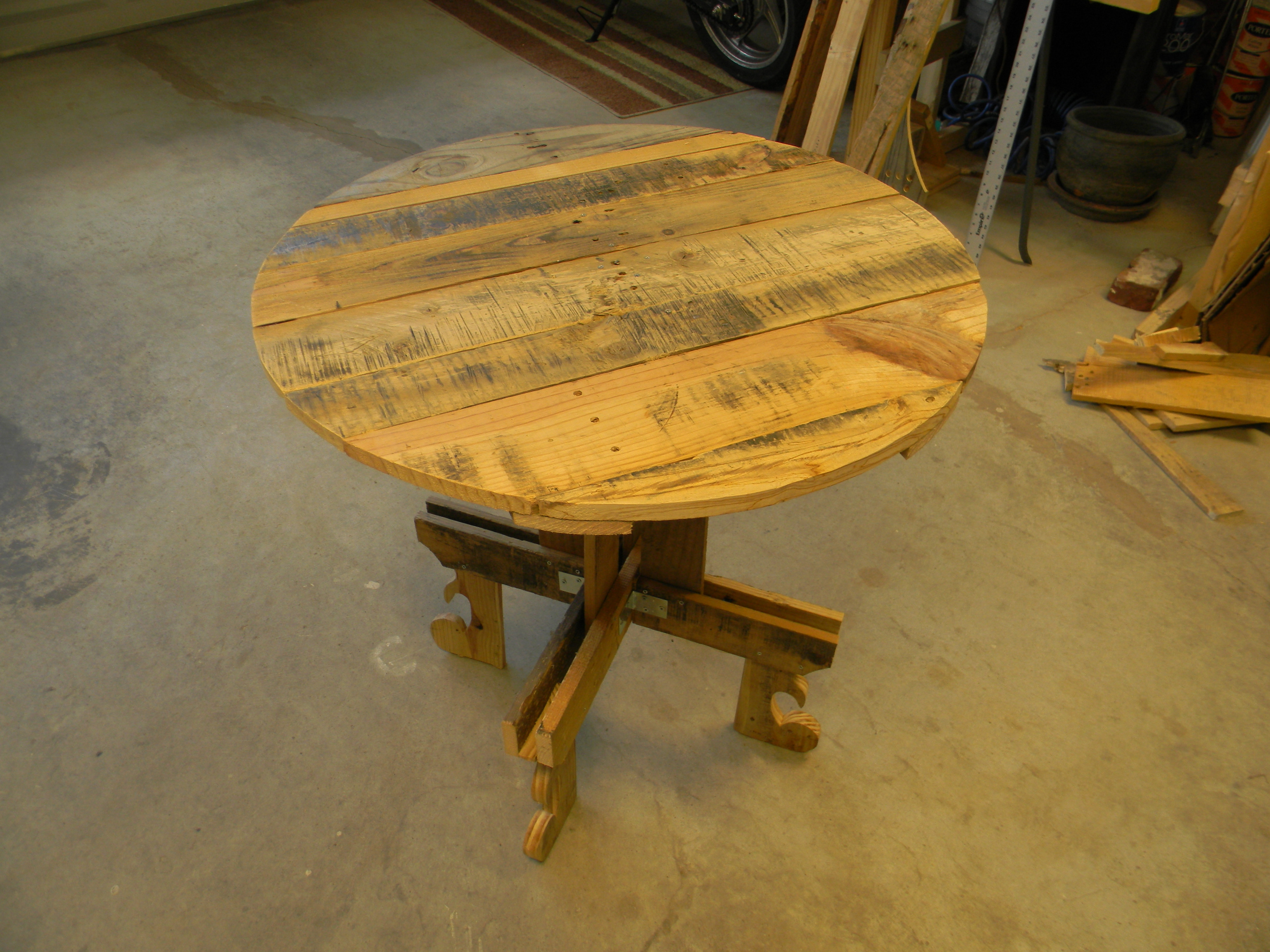 pallet table bistro kitchen table kitchen table and bistro table