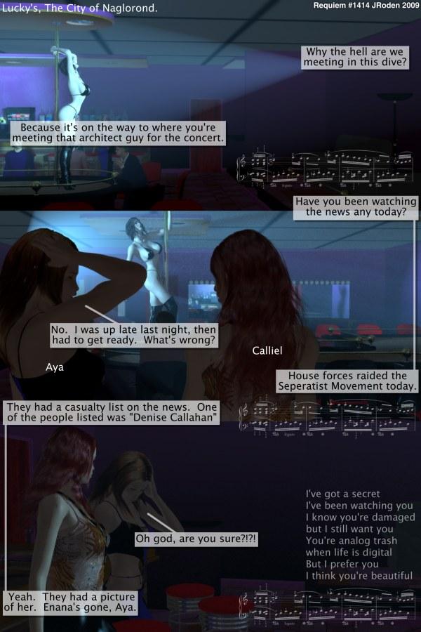Epilogue: Lucky's, Part 1