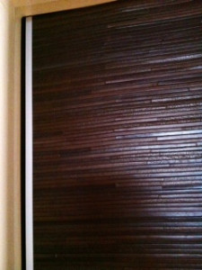 One panel leather door detail vreaxe In House Cut & Paste cabinet Refacing Projects...