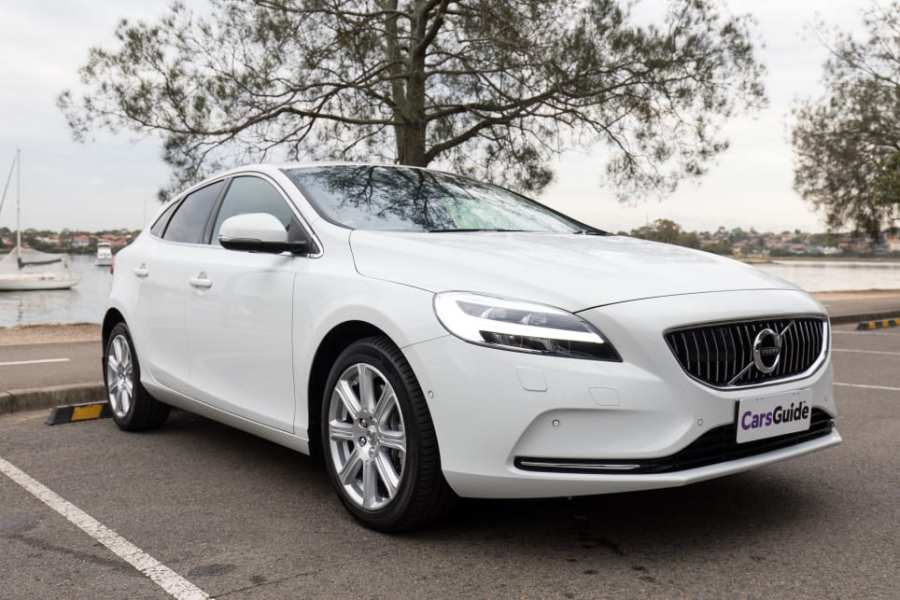 Volvo V40 2018 review   CarsGuide Volvo s outgoing V40 may be getting long in the tooth  but it represents a  simpler