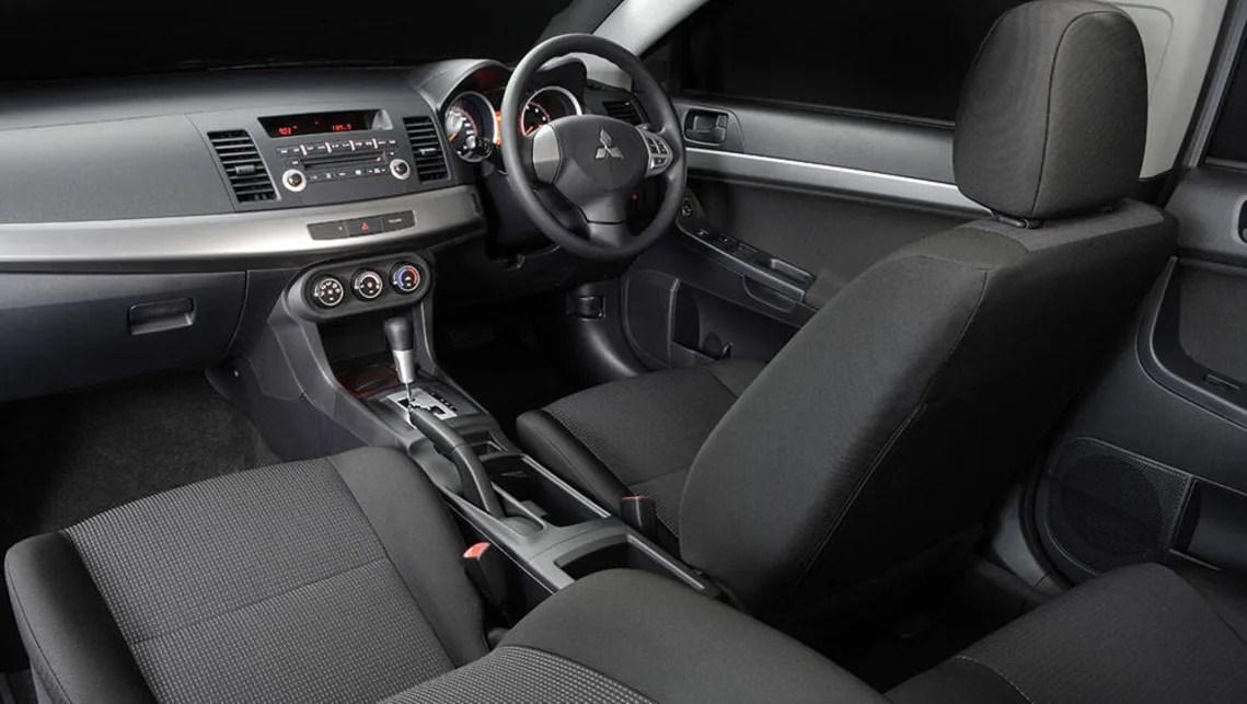 Mitsubishi lancer 2008 interior