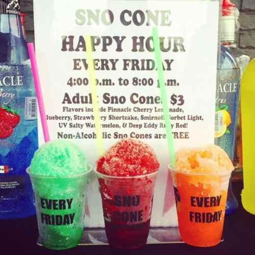 Medium Crop Of Snow Cone Flavors