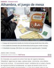 """""""Alhambra"""", el juego de mesa"""