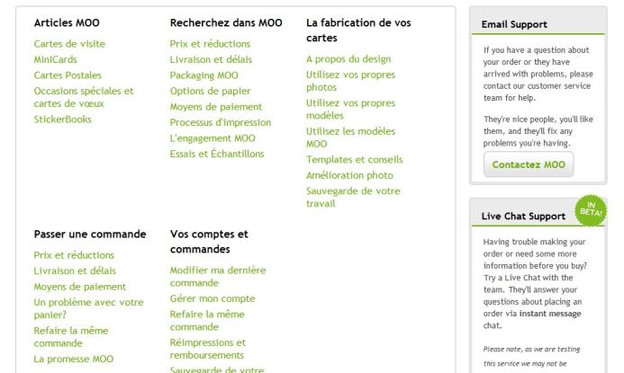 Créer une carte de visite professionnelle avec Moo