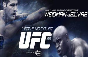 UFC168Poster