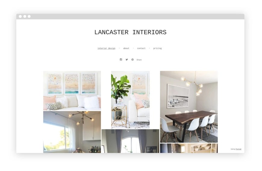 12 Interior Design Portfolio Website Examples We Love Lancaster Interiors