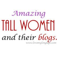 Some amazing tall girl blogs
