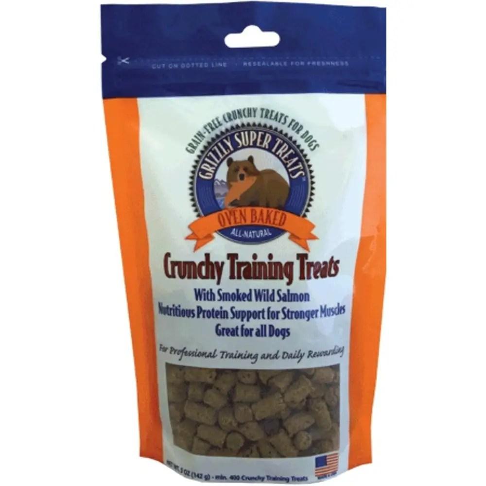 Extraordinary Grizzly Pet Products Crunchy Wild Salmon Training Treats Dog Training Treats Or Praise Dog Training Treats Pet bark post Dog Training Treats