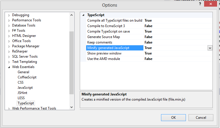 TypeScript Settings