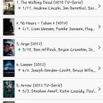 IMDB - Verschiedene Listen (hier MovieMeter)