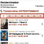 Kinoradar - Filmliste