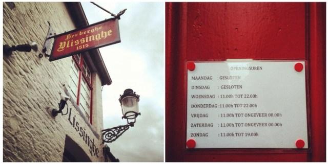Самый старый бар в Брюгге, Бельгия 2012