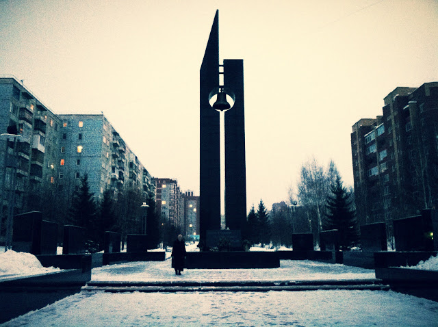 Памятник жертвам войн в Афганистане и Чечне, Достопримечательности Томска