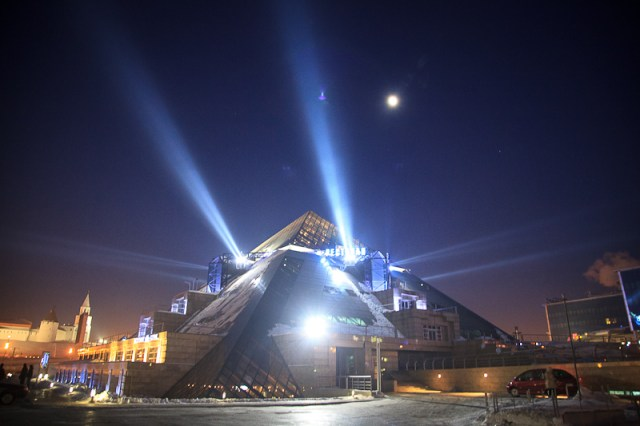 Местный Люксор, Казань 2012