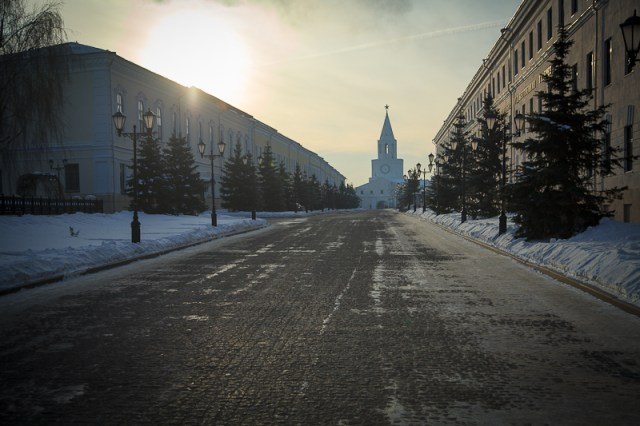 В стенах кремля, Казань 2012