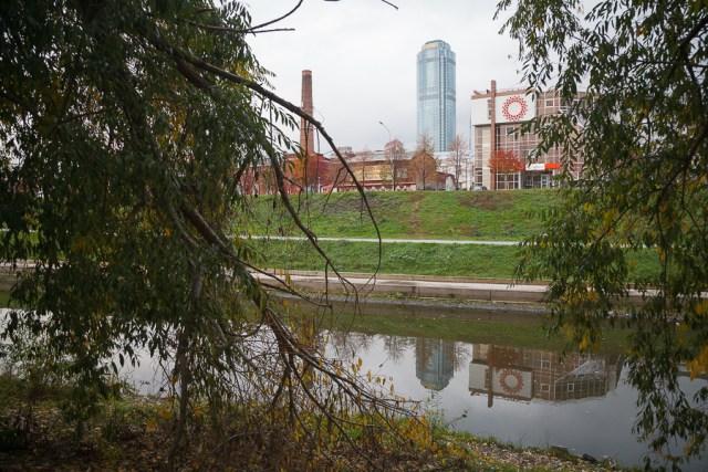 Екатеринбург, Вид на Высоцкий, 2013
